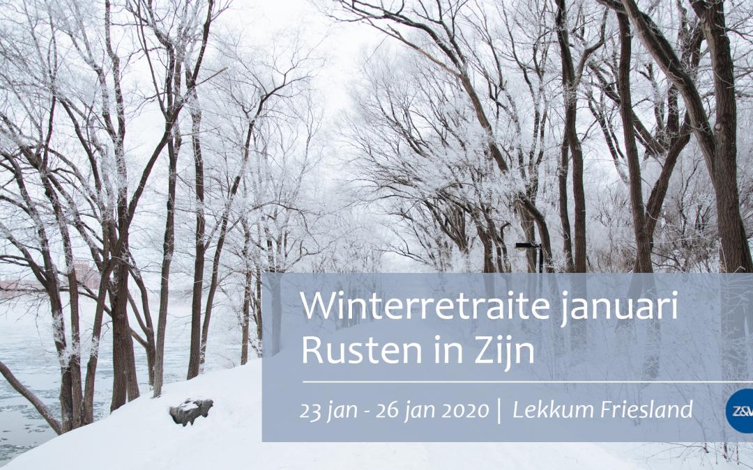 Winterretraite januari 2020 | Rusten in Zijn | Lekkum Friesland