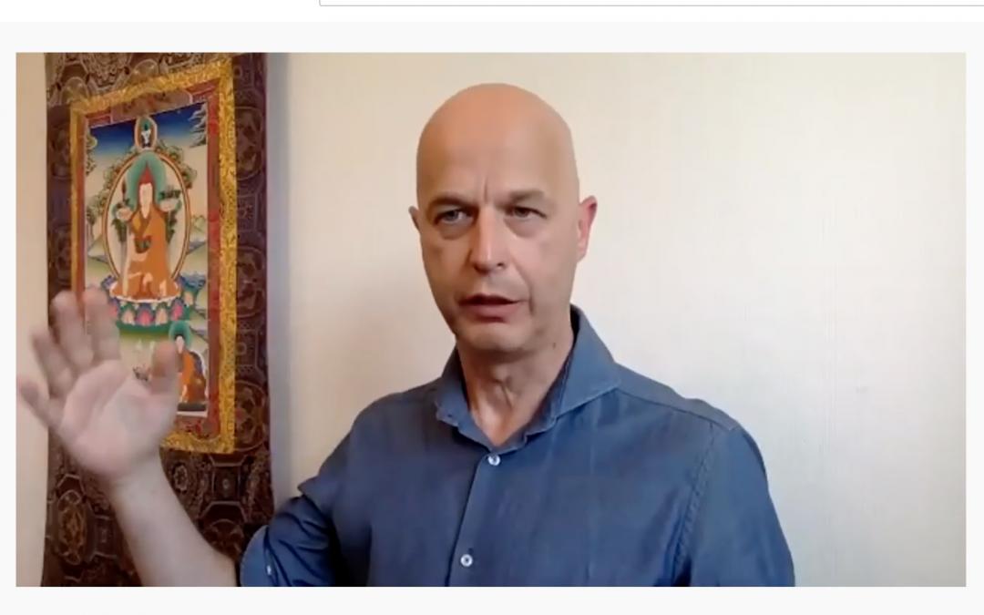 Omgaan met emoties op het spirituele pad | Teaching en oefeningen door Michaël Steinau | Verslag door Jeroen de Bruin